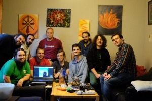 The MusicBrainz Summit 15 participants.
