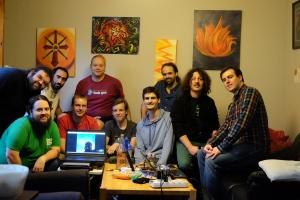 The MusicBrainz Summit 15 participants.
